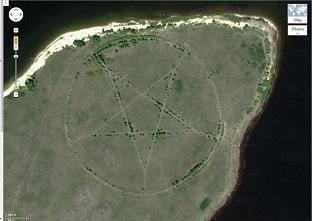 pentagrama aereo