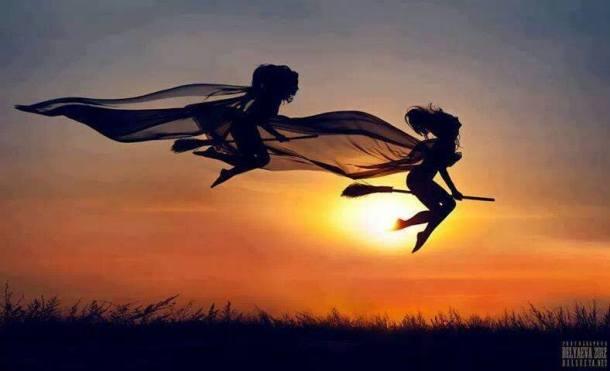 Bruxas voando