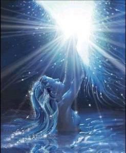 deusa azul